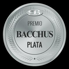 Medalla premio bacchus plata