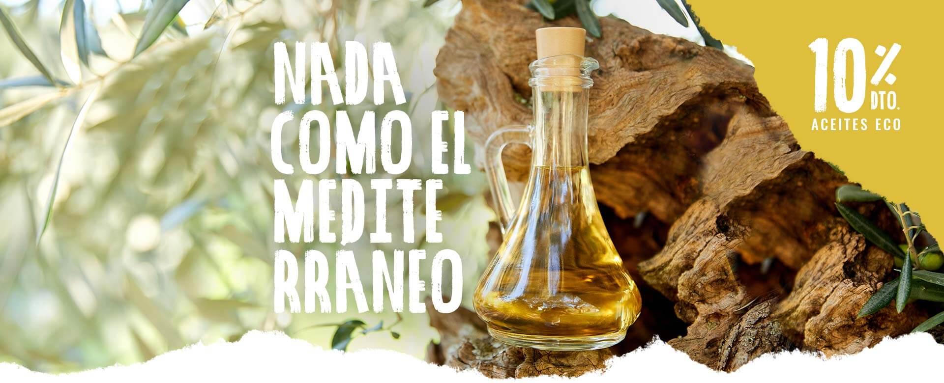 Aceites de oliva virge extra del Mediterráneo